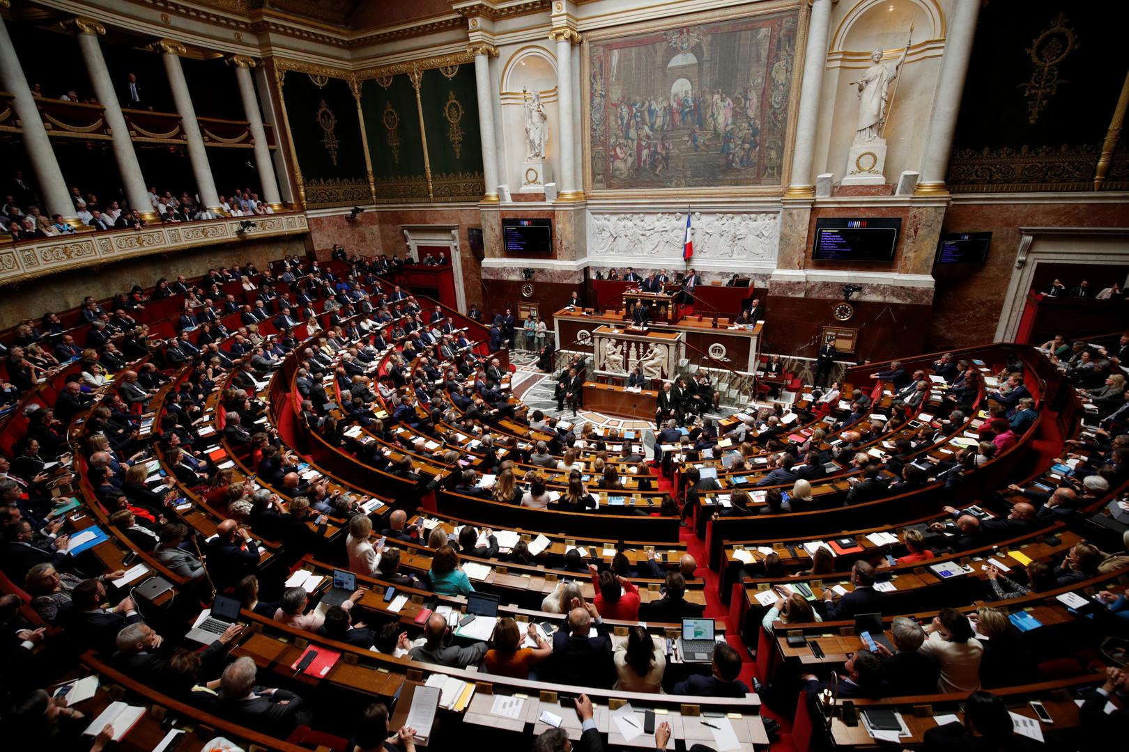 جلسة في الجمعية الوطنية الفرنسية