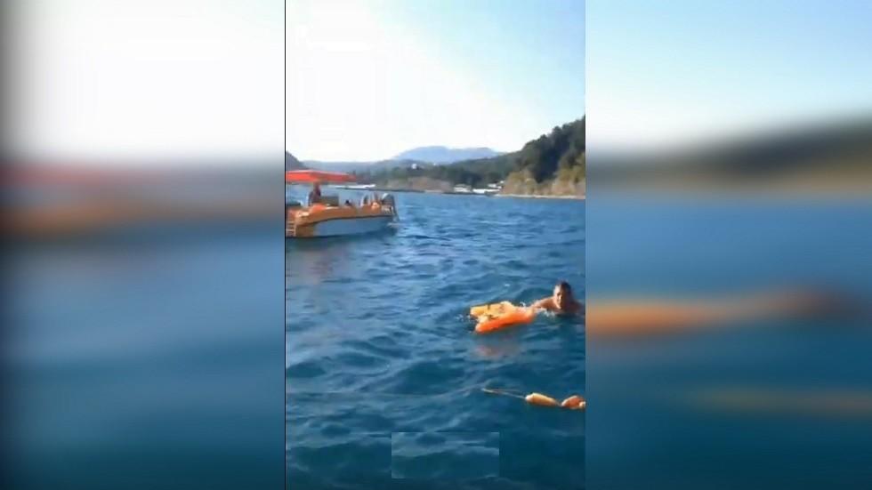 إنقاذ ركاب القارب الروسي المنقلب في البحر الأسود
