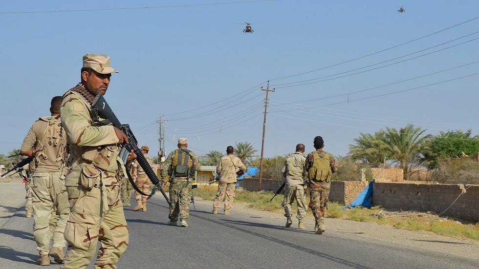 عناصر من الجيش العراقي في الأنبار (صورة أرشيفية)