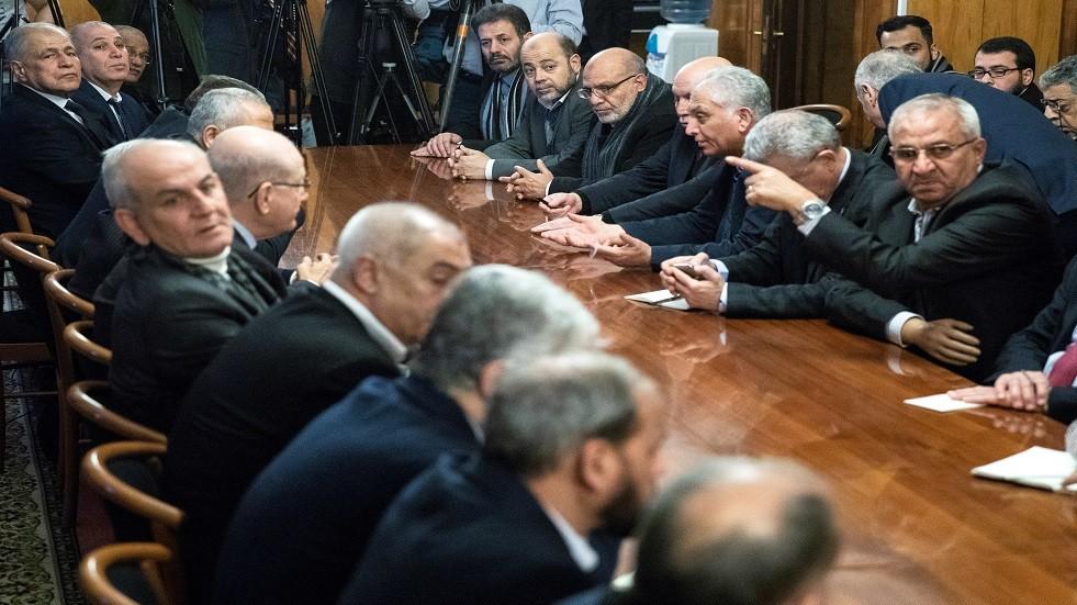 مفاوضات المصالحة الفلسطينية بموسكو - أرشيف
