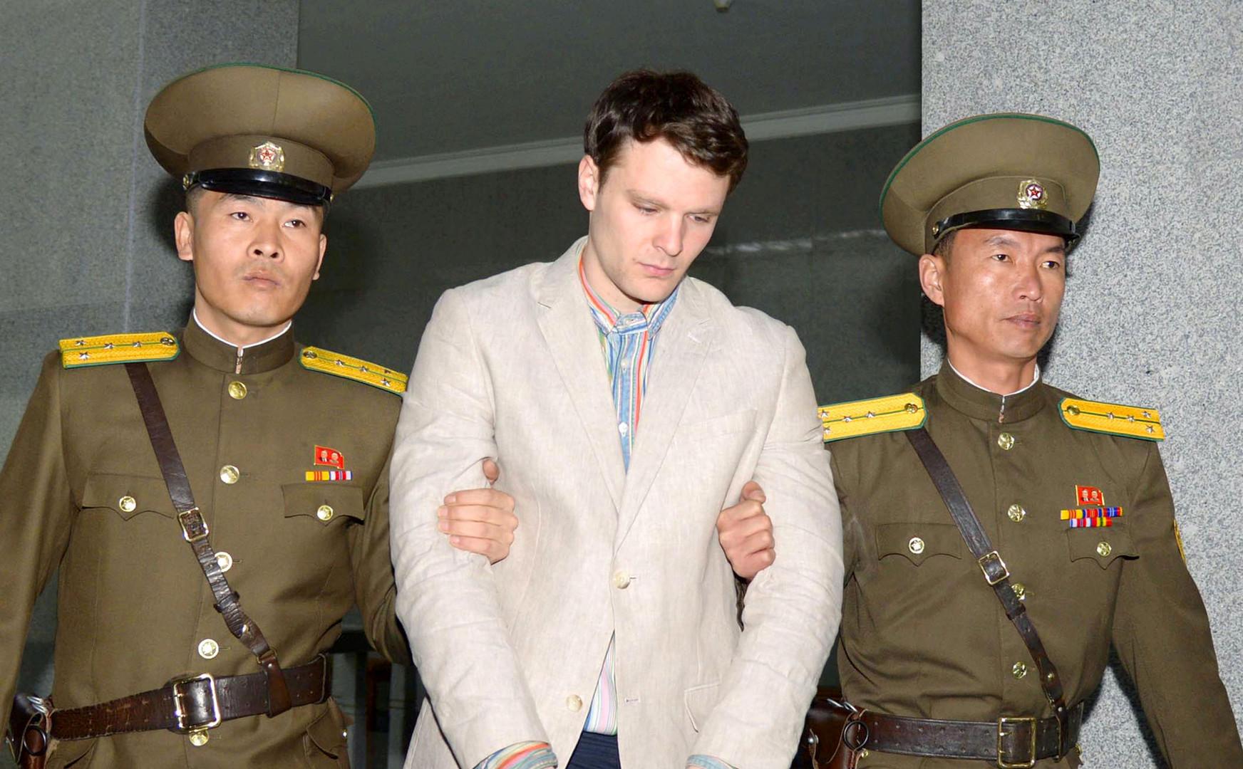 والدا الطالب الأمريكي المتوفى إثر سجنه في بيونغ يانغ يطلبان تسليم السفينة الكورية المحتجزة لهما