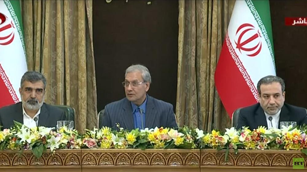 إيران: جميع الخيارات مطروحة بشأن مصير الاتفاق النووي