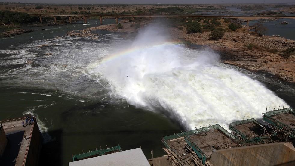 سد على نهر النيل الأزرق - أرشيف