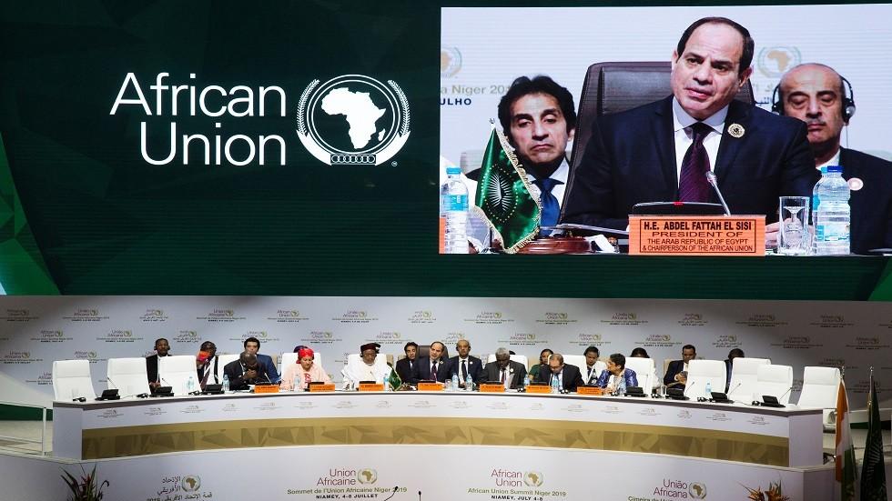 الرئيس المصري عبد الفتاح السيسي في القمة الإفريقية بالنيجر