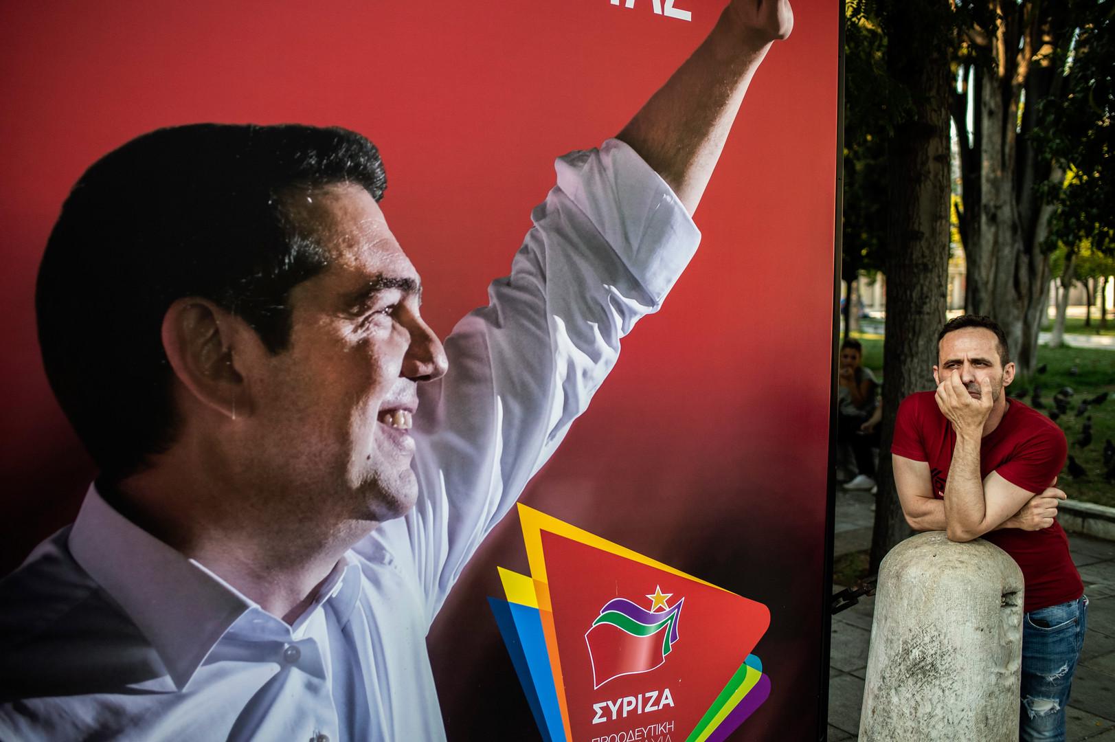 اليونان.. حزب تسيبراس يقر بخسارته في الانتخابات البرلمانية