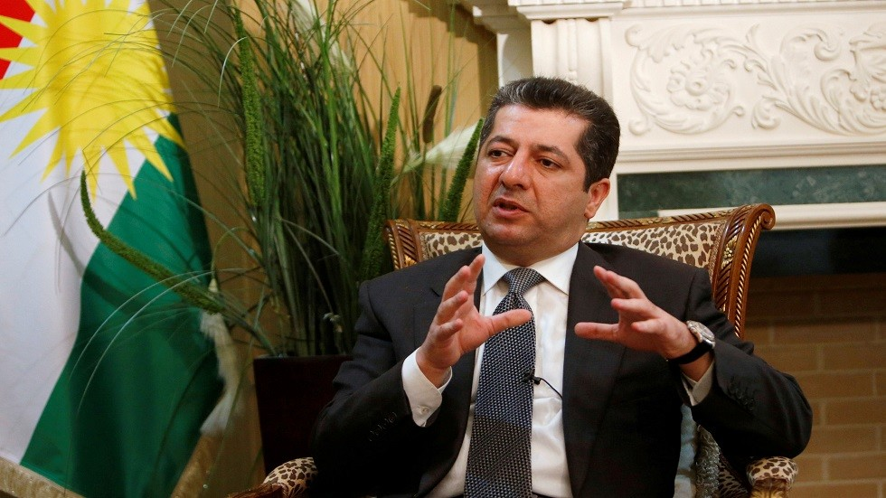رئيس وزراء إقليم كردستان العراق المكلف مسرور بارزاني