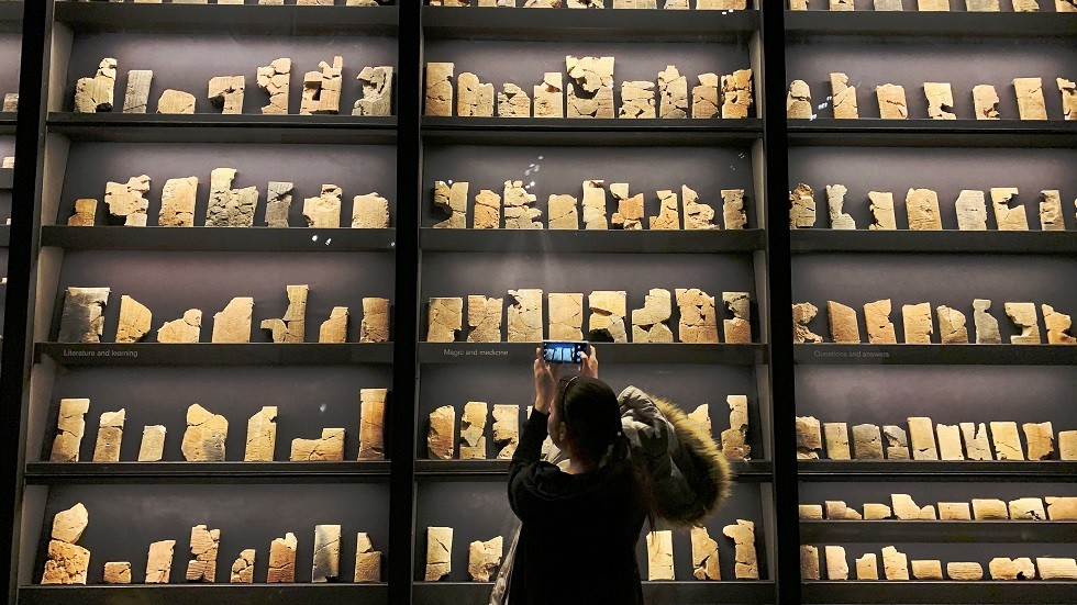 المتحف البريطاني:سنعيدقطعا أثرية مسروقة إلى العراق
