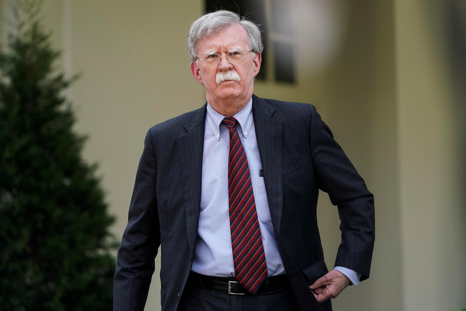 بولتون: العقوبات الحالية ضد إيران مجرد بداية وسنزيد الضغط عليها