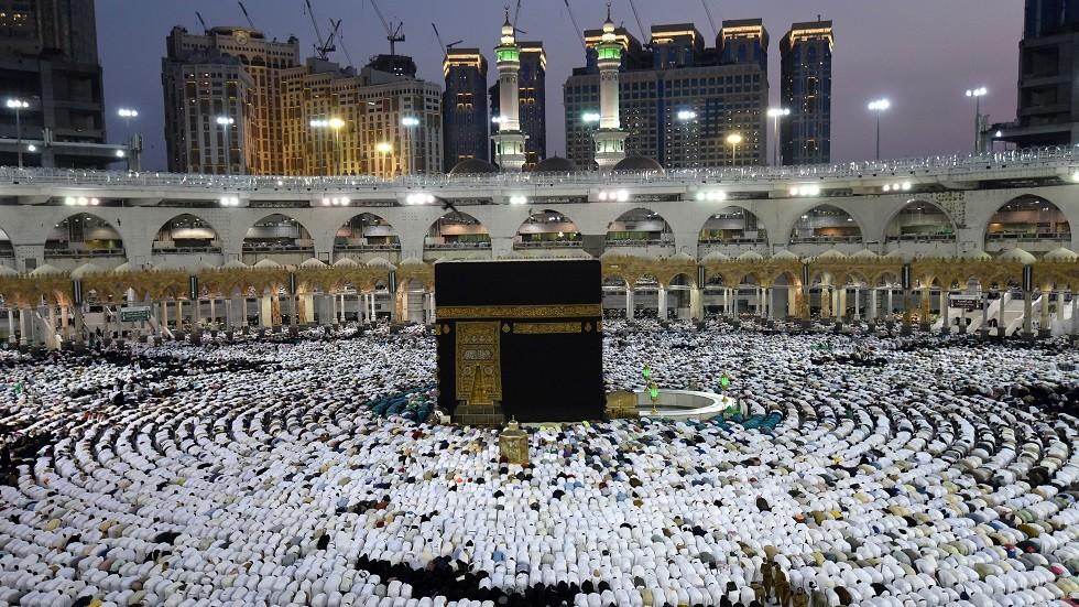 الكعبة المشرفة في مكة المكرمة بالسعودية