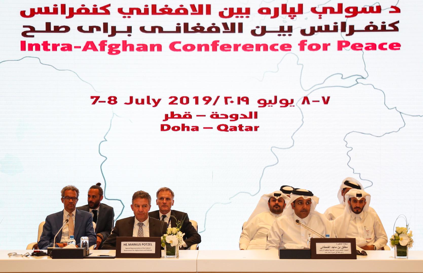 قطر تعلن نجاح مؤتمر الدوحة للسلام في أفغانستان