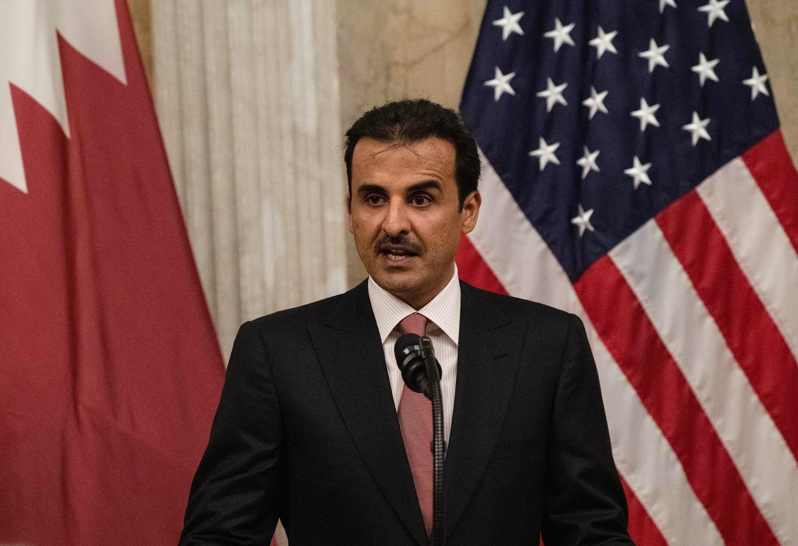 أمير قطر لترامب: أحيانا يجب التحالف مع شركاء ليسوا أصدقاء