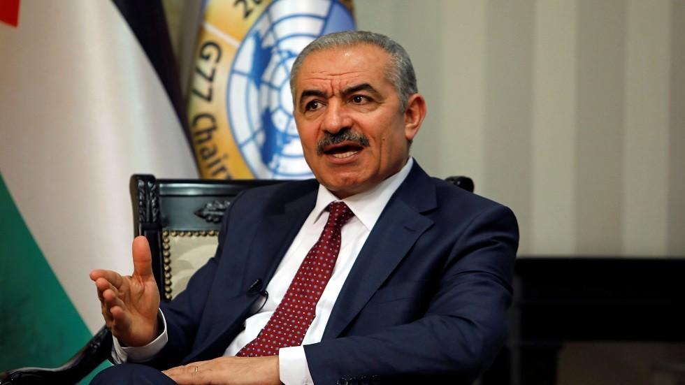 رئيس الوزراء الفلسطيني محمد إشتيه