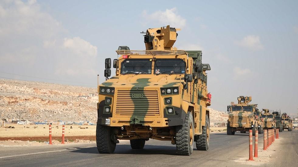 الجيش التركي يرسل تعزيزات إلى الحدود مع سوريا