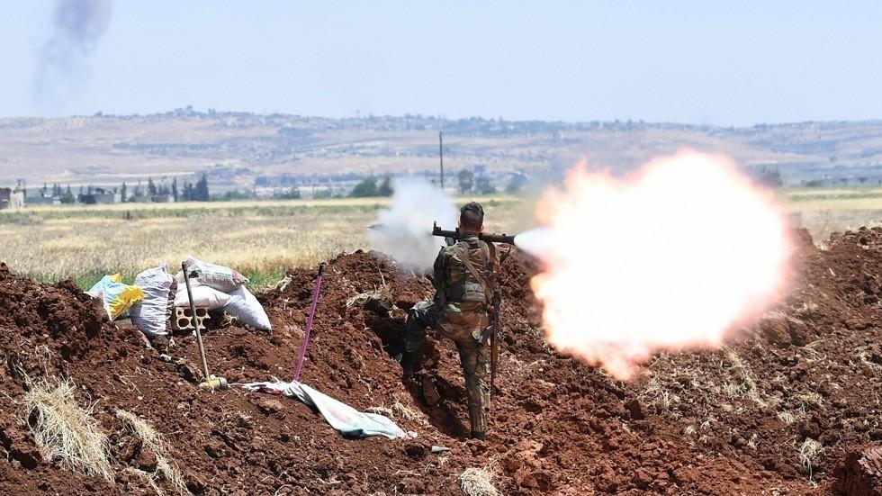 اشتباكات في ريف حماة بسوريا (الأرشيف)
