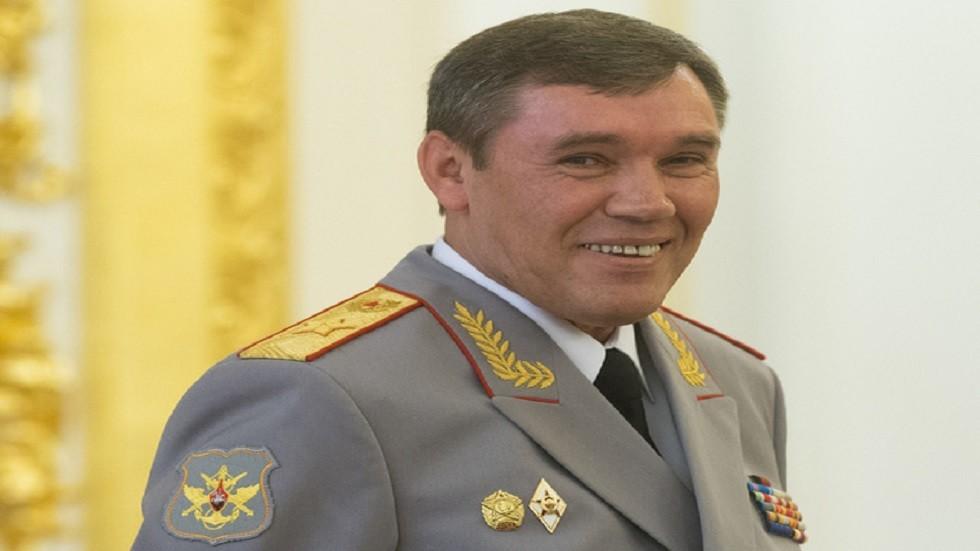 الجنرال فاليري غيراسيموف في صورة أرشيفية