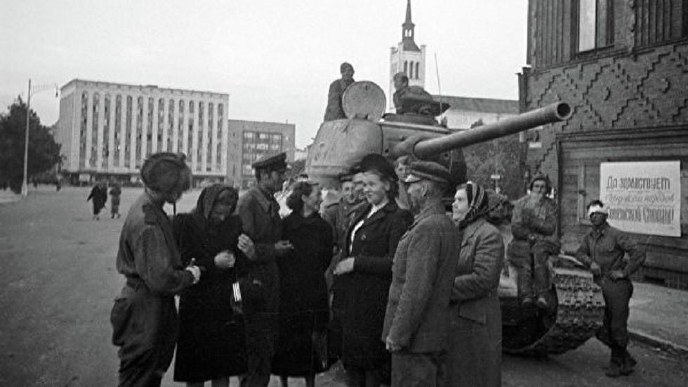 أرشيفية للجيش السوفيتي في تالين