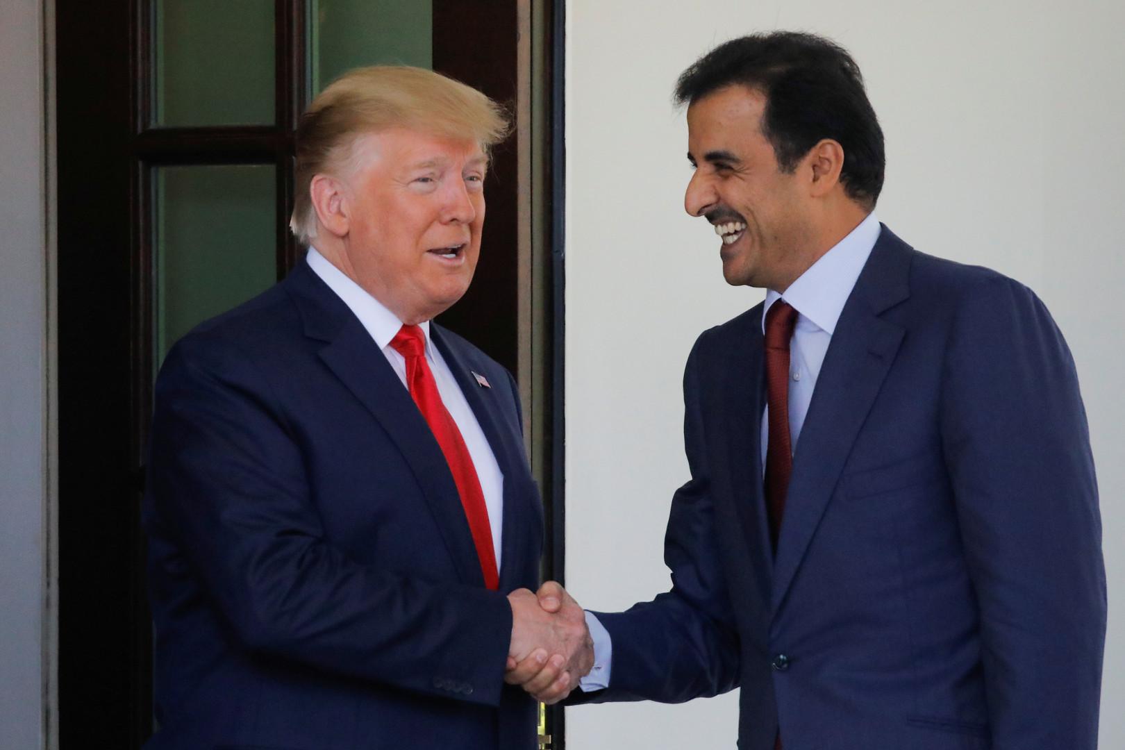 ترامب: قطر صديق حميم للولايات المتحدة