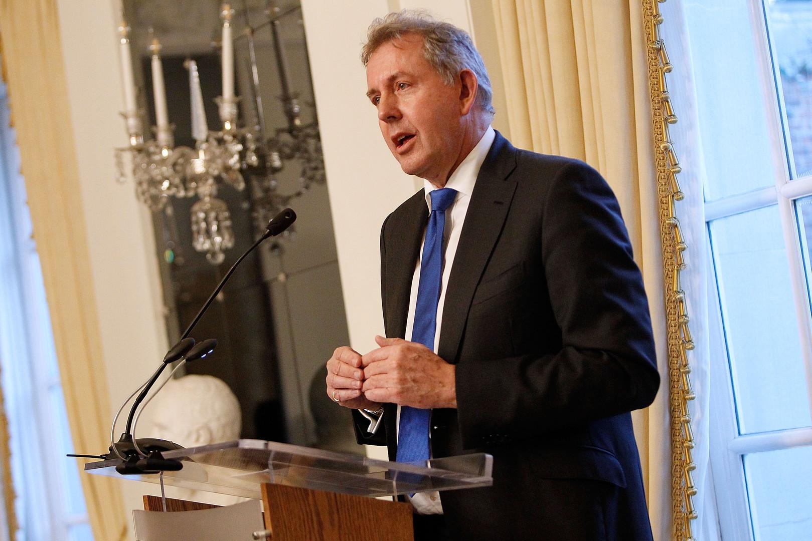 السفير البريطاني لدى الولايات المتحدة، كيم داروك