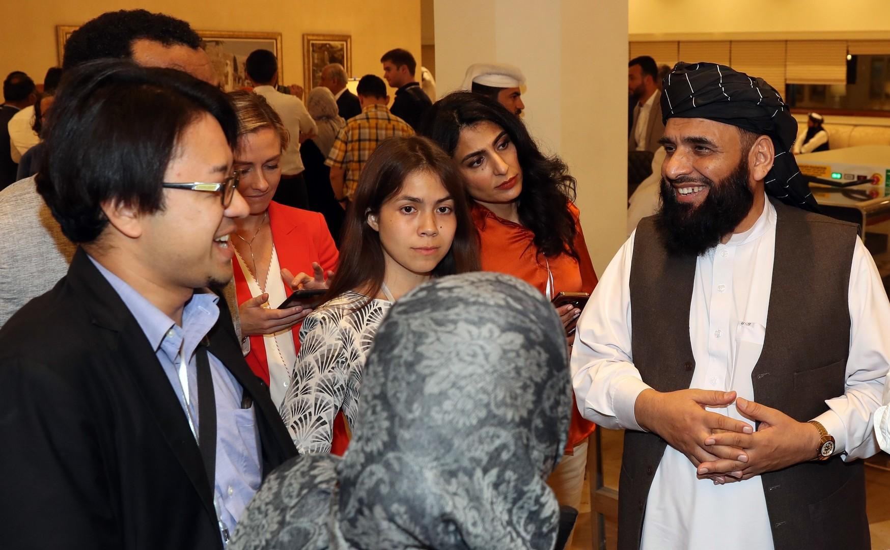 ناشطة أفغانية في مفاوضات الدوحة:
