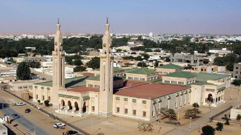 المسجد الكبير في نواكشوط - أرشيف