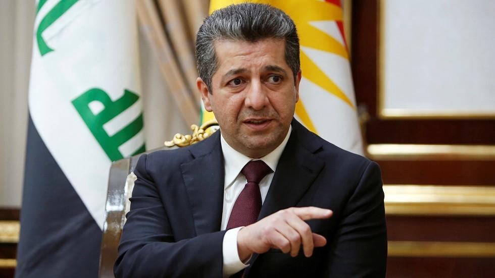 مسرور بارزاني: الأولوية لتحسين العلاقات مع بغداد