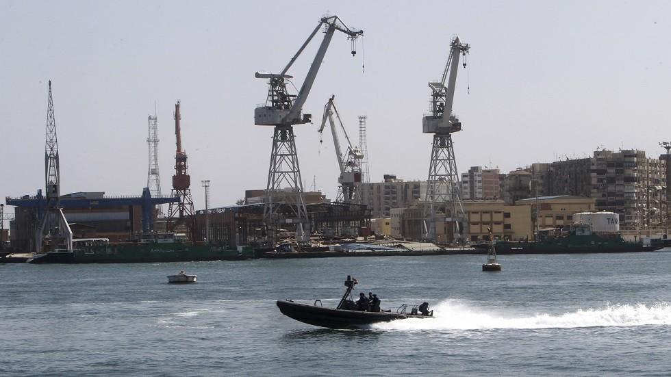ميناء بور سعيد المصري - أرشيف
