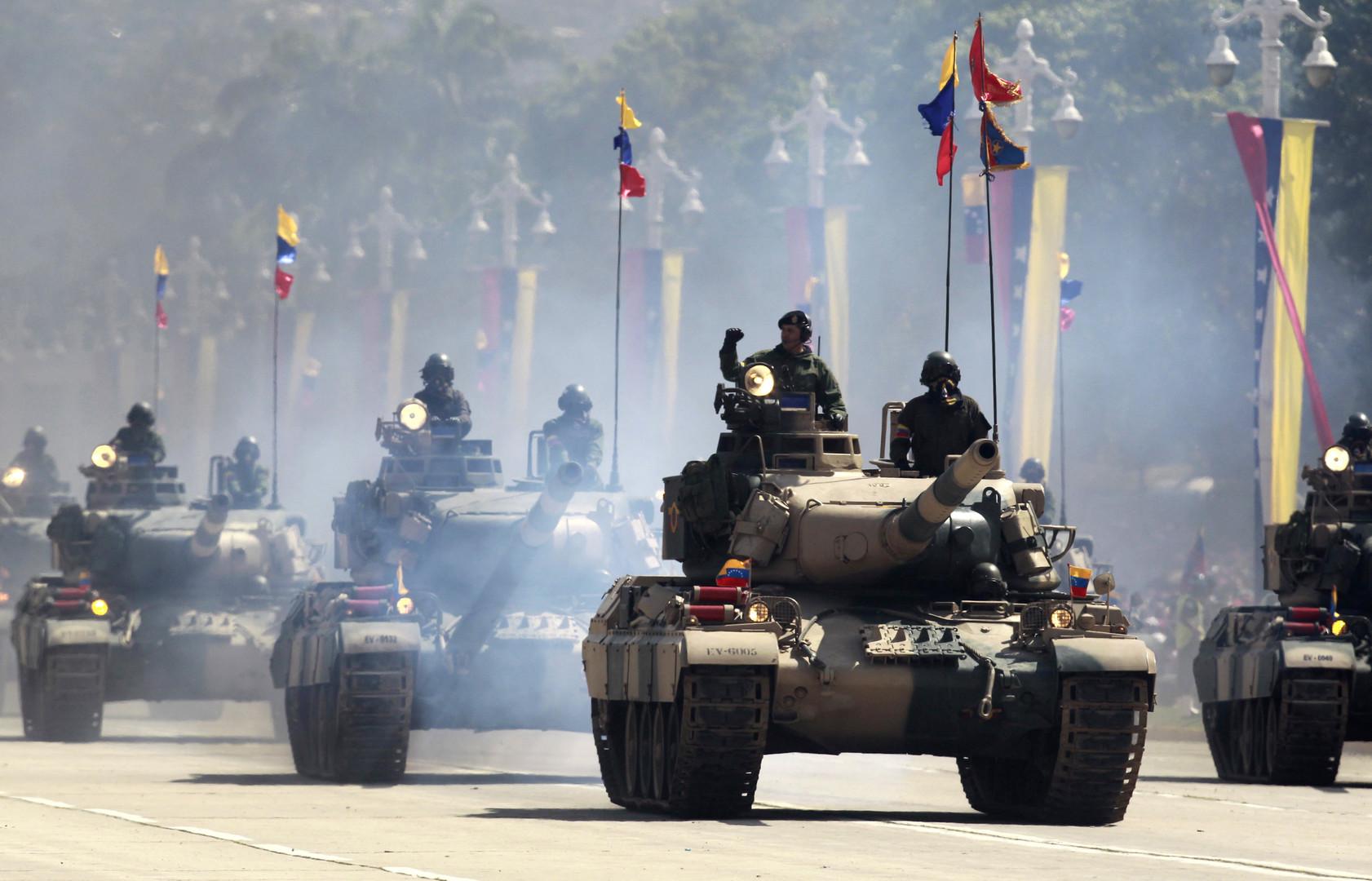 عرض للجيش الفنزويلي - أرشيف