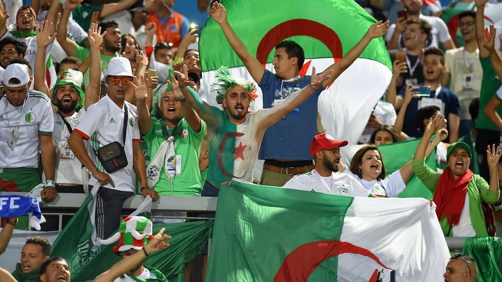 الجماهير الجزائرية تغزو مصر (صور)