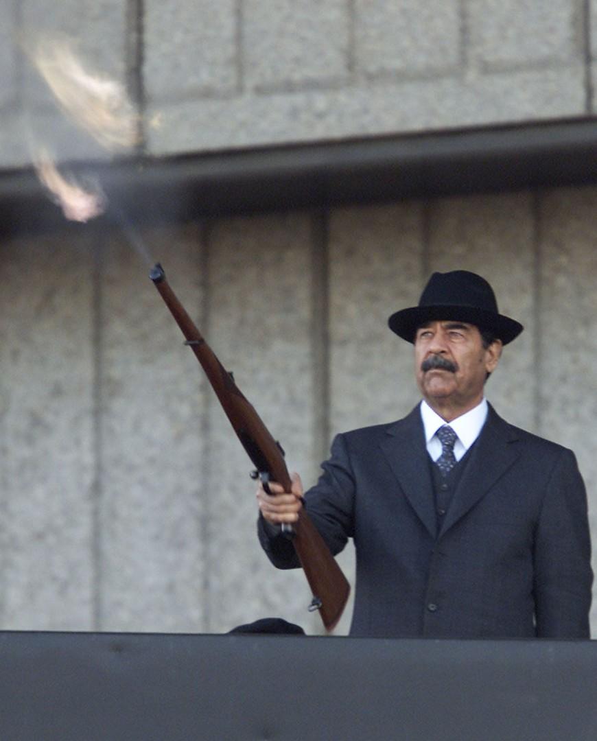 فيديو.. عراقيون يهتفون باسم صدام حسين في بغداد