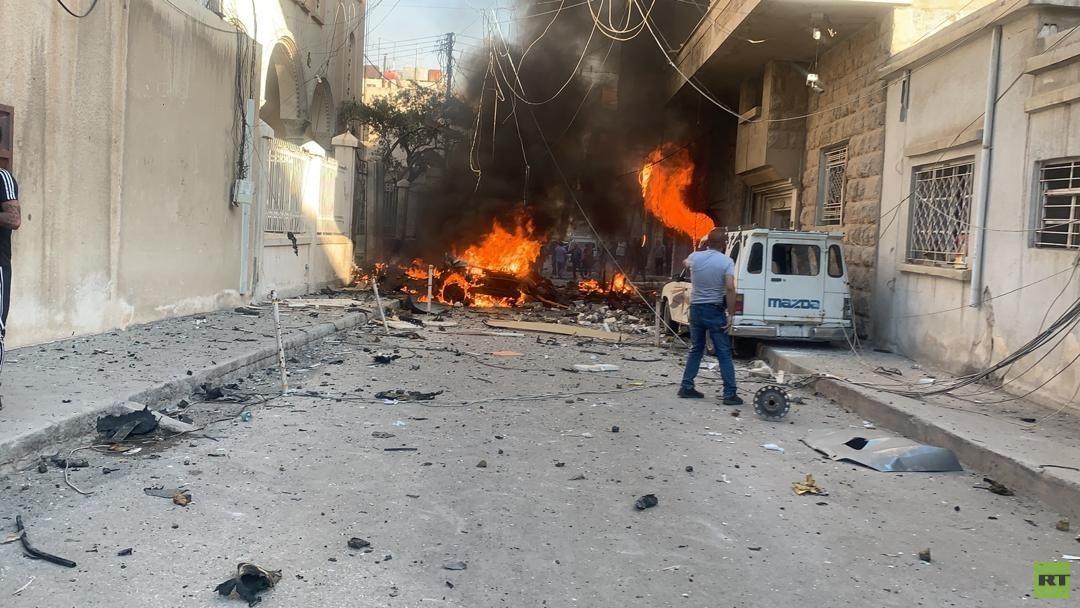 مراسلنا: تفجير كبير وسط القامشلي شمالي شرقي سوريا (فيديو)  -