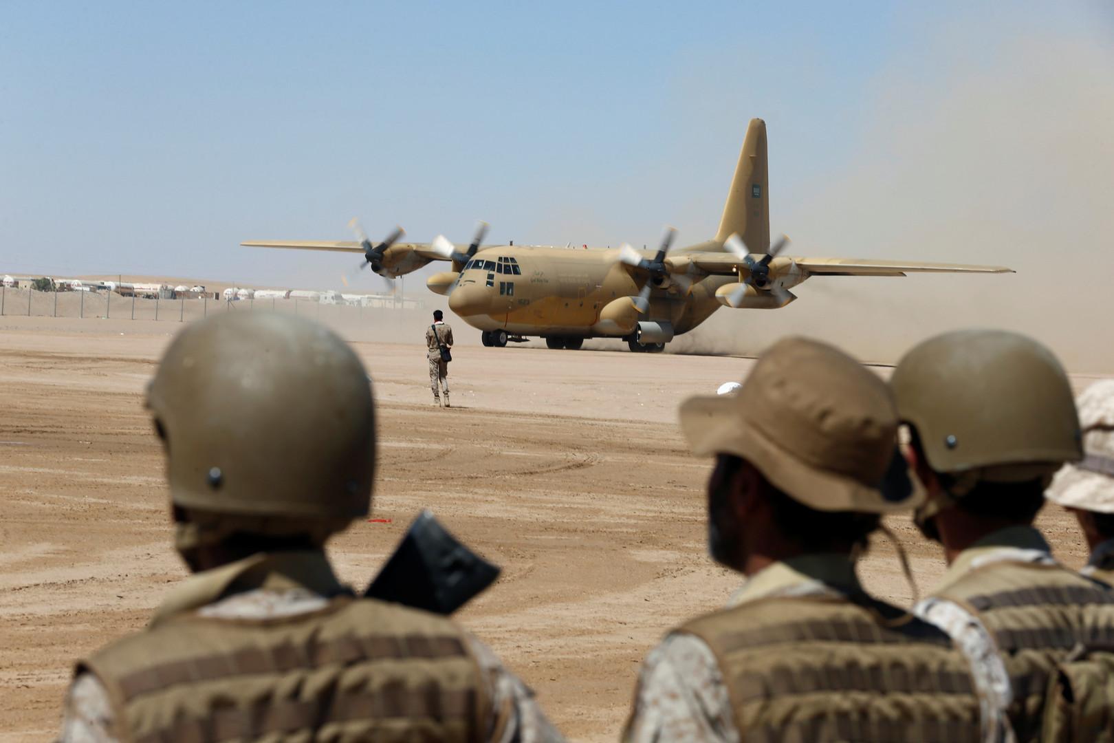 عناصر من القوات السعودية في اليمن
