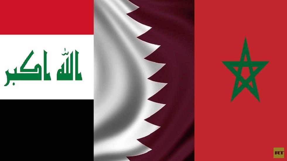 قطر تبحث تعزيز العلاقات العسكرية مع العراق والمغرب