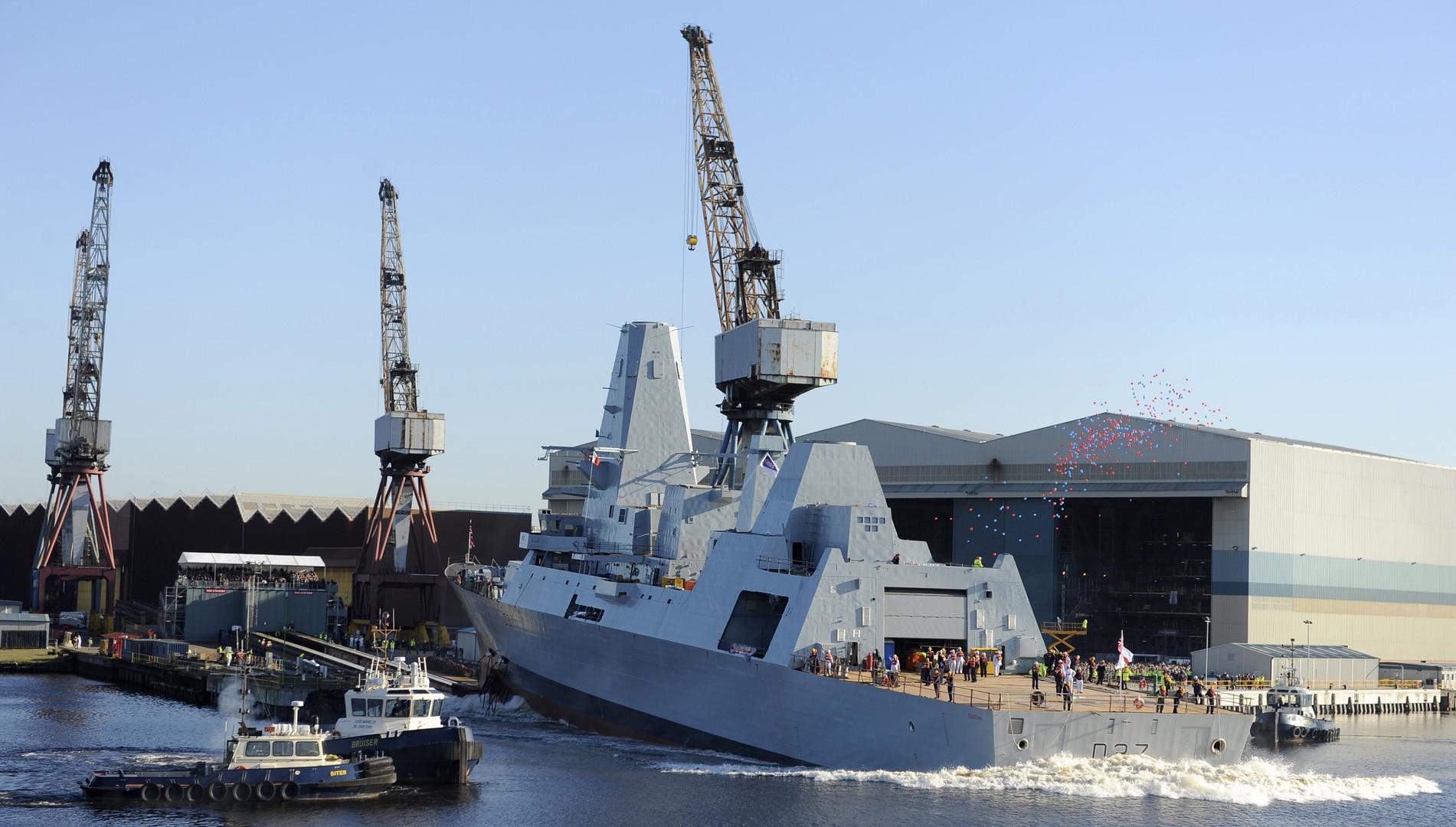 بريطانيا ترسل سفينة حربية ثانية إلى الخليج على خلفية التوتر مع إيران