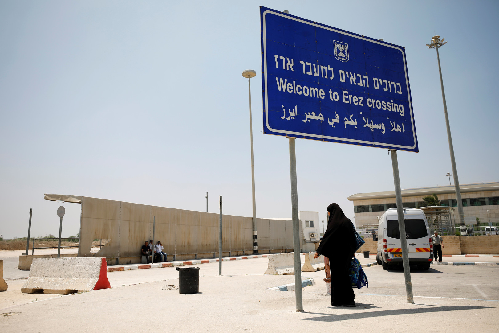 وصول وفد أمني مصري إلى قطاع غزة