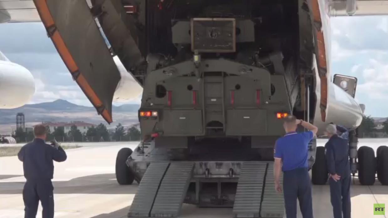 تركيا تتسلم الشحنة الأولى من إس-400