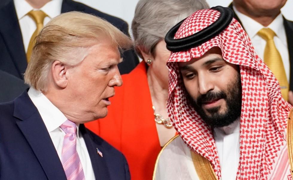 ولي العهد السعودي محمد بن سلمان والرئيس الأمريكي دونالد ترامب
