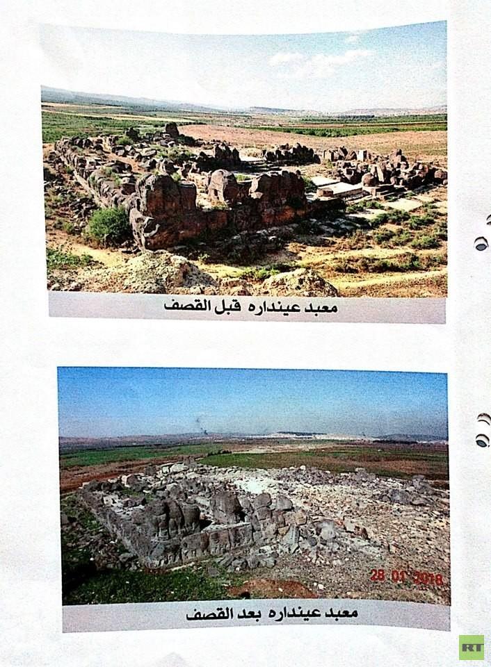 مدير الآثار في سوريا: الأتراك يجرفون المواقع الأثرية