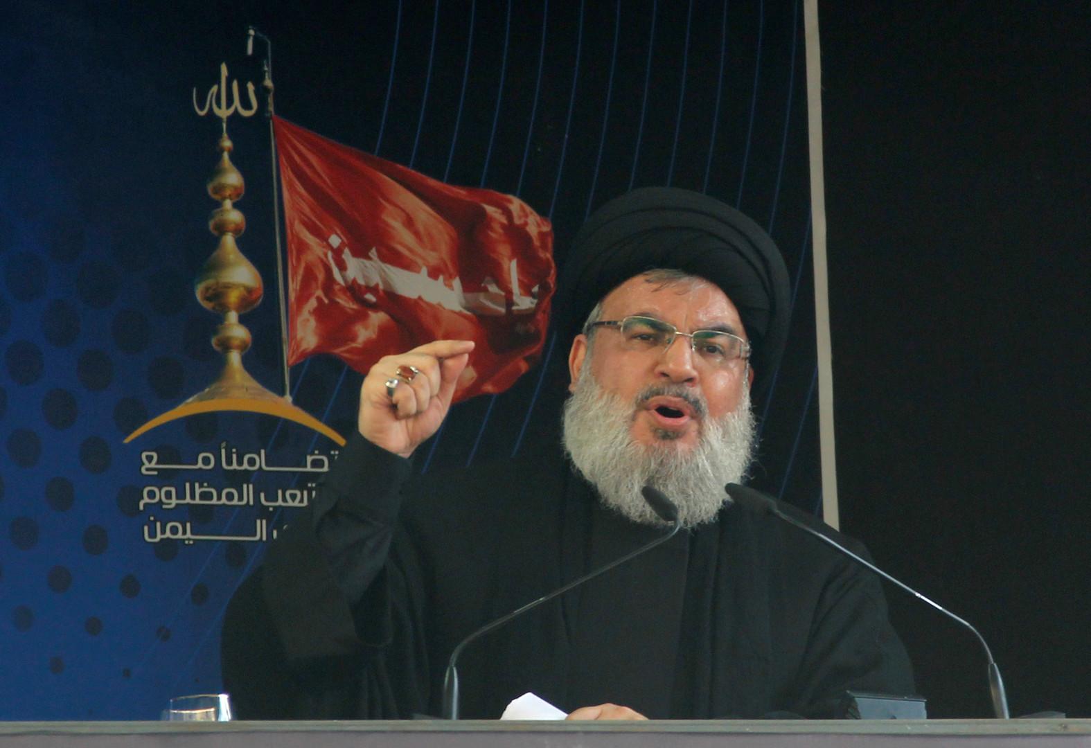 نصر الله: قادرون على استهداف كل إسرائيل حتى إيلات وإعادتها للعصر الحجري