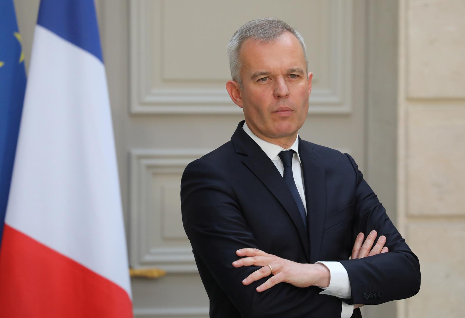 وزير البيئة الفرنسي فرانسوا دوروجي