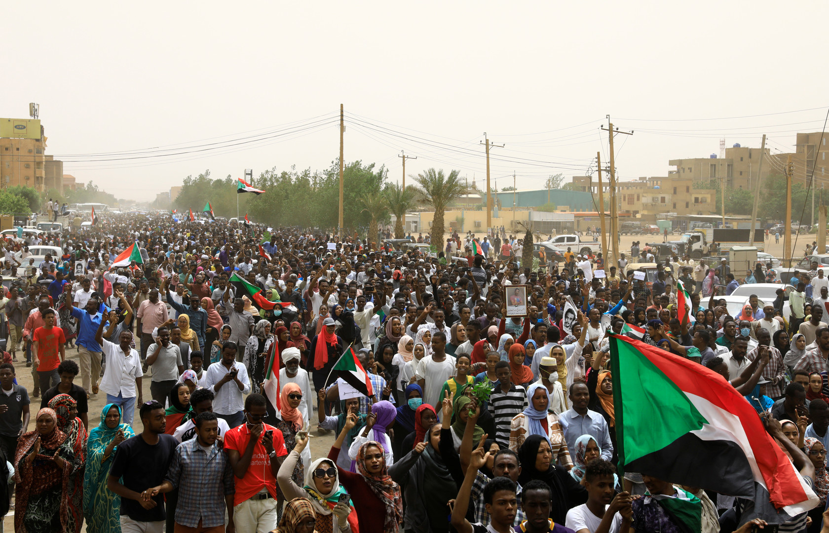 مليونية في السودان للمطالبة بالعدالة والقصاص للقتلى
