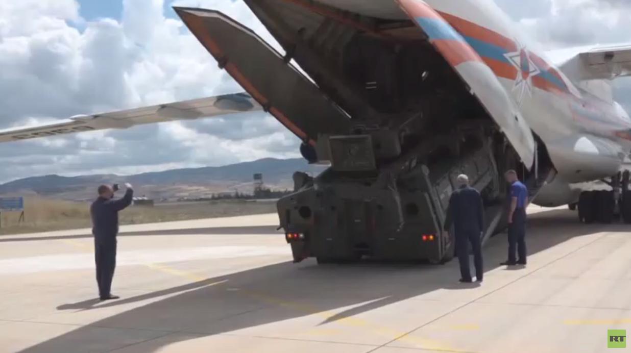 تركيا تواصل تسلم أجزاء منظومة إس-400