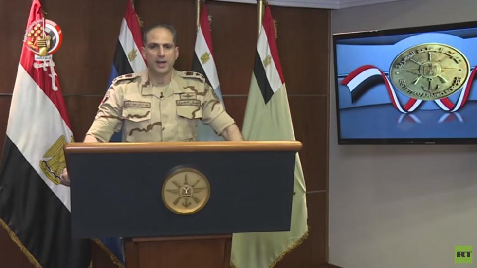 المتحدث العسكري باسم القوات المسلحة المصرية، العقيد أركان حرب تامر الرفاعي