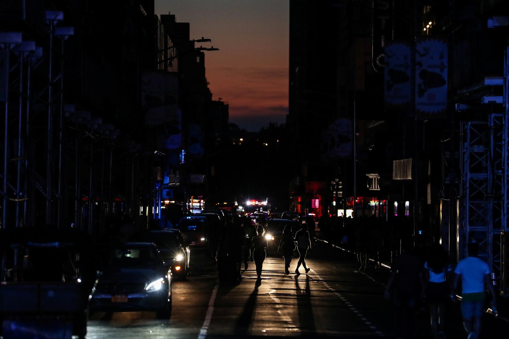 انقطاع الكهرباء على نطاق واسع في مناطق من مانهاتن بنيويورك