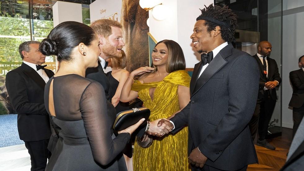 الأمير هاري وميغان ماركل يلتقيان بـ بيونسيه وجي زي