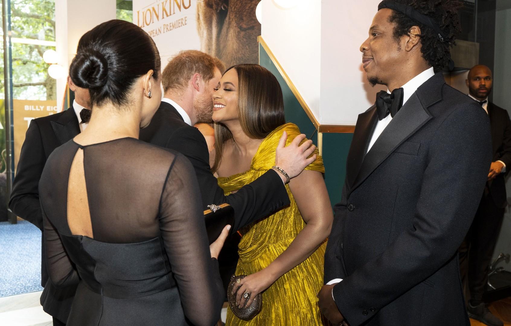ماذا قالت بيونسيه لـ ميغان ماركل في حفل لندن؟