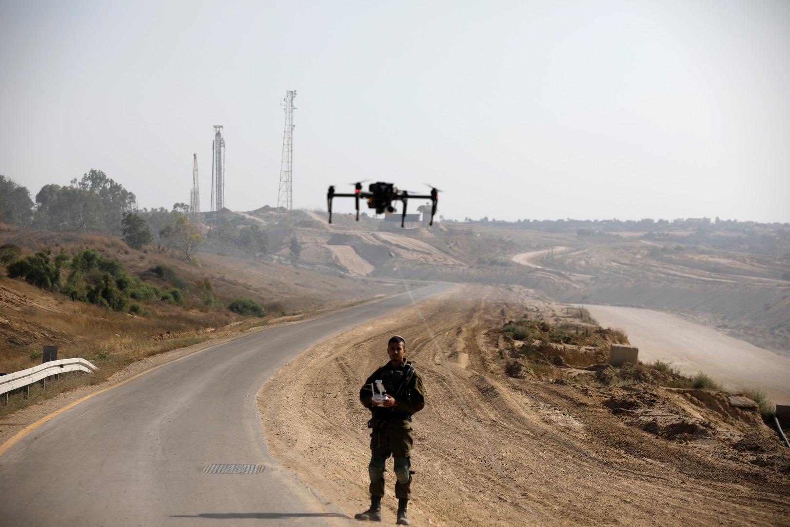 الجيش الإسرائيلي يعلن تحطم طائرة مسيرة تابعة له في قطاع غزة