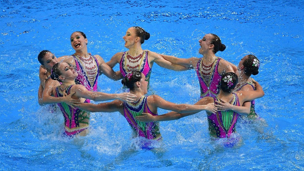 شاهد.. سيدات روسيا يحرزن ذهبية السباحة المتزامنة في بطولة العالم