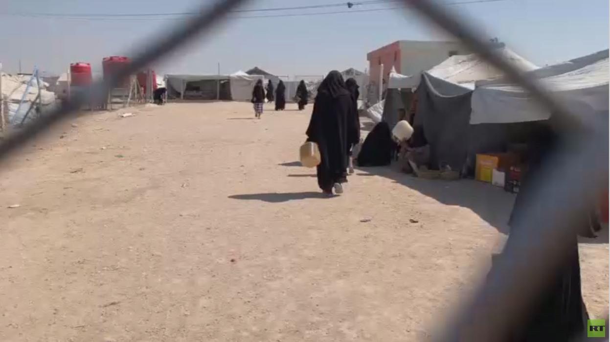 غموض يلف مصير اللاجئين بمخيم الهول