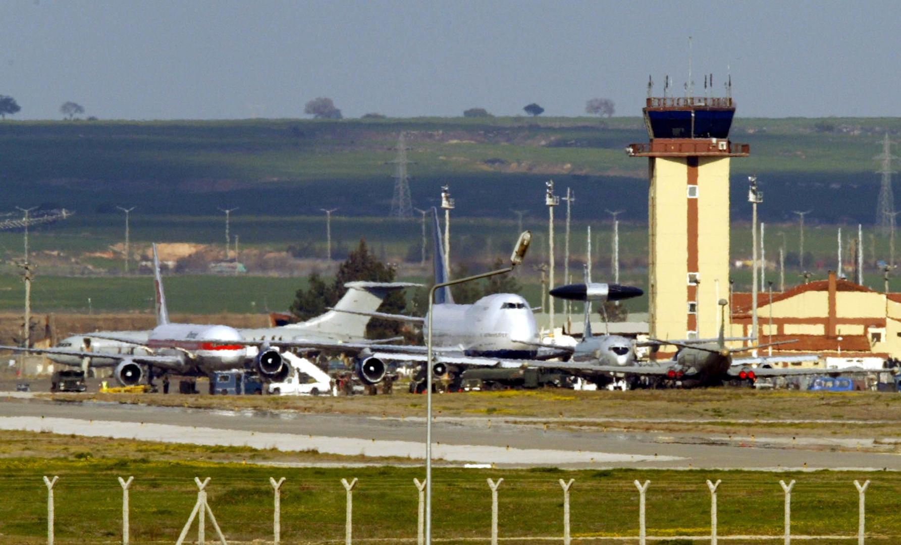 قاعدة أنجرليك الجوية في تركيا، أرشيف