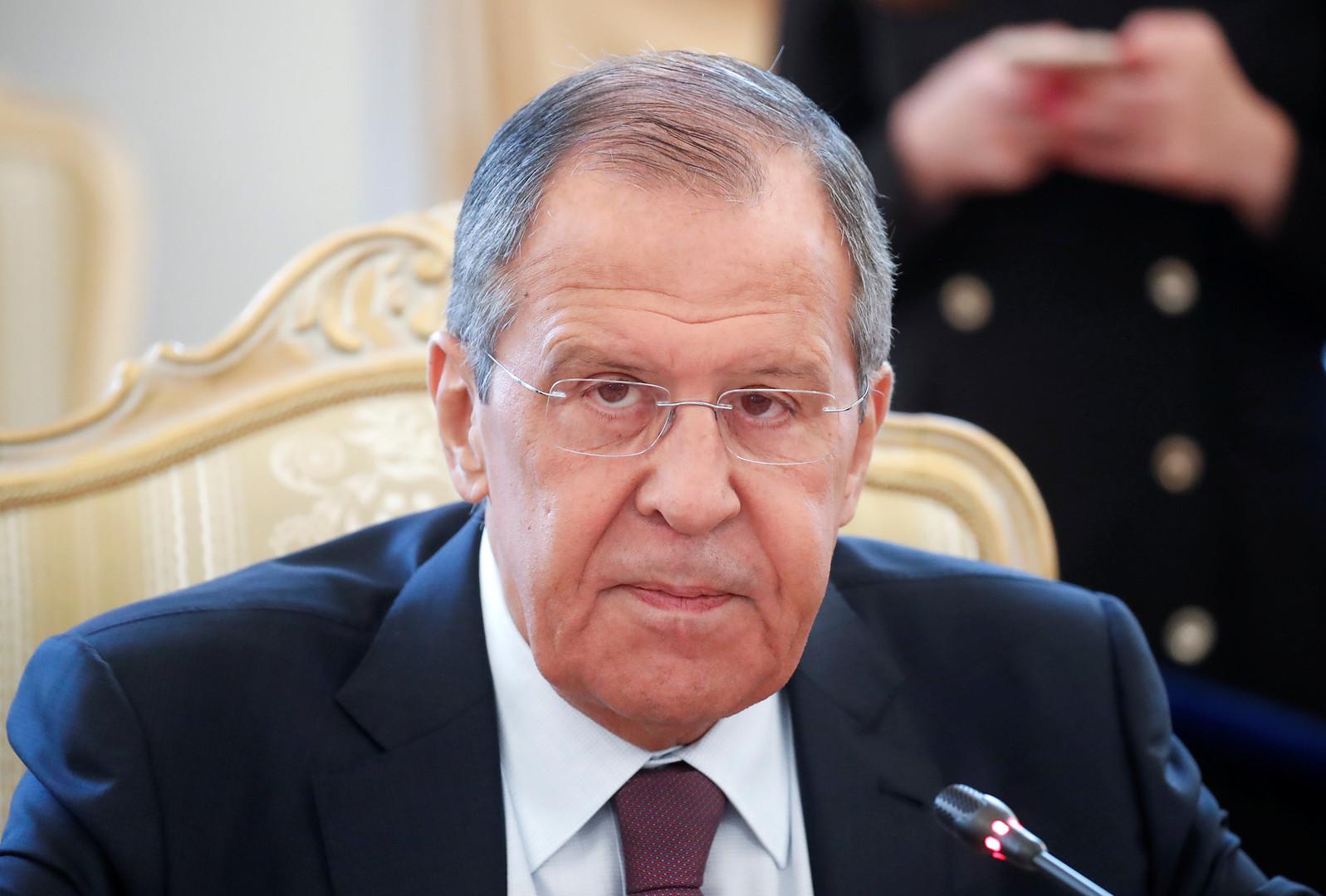 لافروف: تسوية أزمة دونباس ممكنة شرط أن لا يتم طمس اتفاقات مينسك